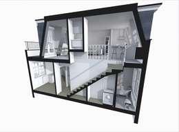 de estilo  por GK Architects Ltd