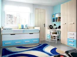 Dormitorios de estilo moderno por ROIG MOBEL