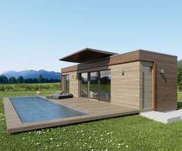 Projekty, nowoczesne Domy zaprojektowane przez Pilzarchitektur