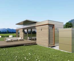 Casas de estilo moderno por Pilzarchitektur
