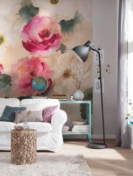 Paredes y pisos de estilo clásico por fototapete.de