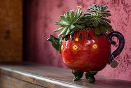 asiatischer Garten von Ateliê de Cerâmica - Flavia Soares