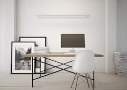minimalistic Study/office by ImagineCG