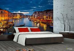 ARTMODEL – Venedik Duvar Kağıdı (PD-03): modern tarz Duvar & Zemin