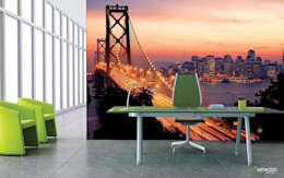 ARTMODEL – San Francisco - Duvar Kağıdı (pd-12): modern tarz Duvar & Zemin