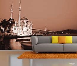 ARTMODEL – Ortaköy Duvar Kağıdı: modern tarz Duvar & Zemin