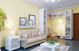 https://www.homify.ru/professionals/66767/ak-interior-design-group: Гостиная в . Автор – Студия дизайна и декора Алины Кураковой