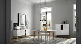 minimalistic Dining room تنفيذ Temahome