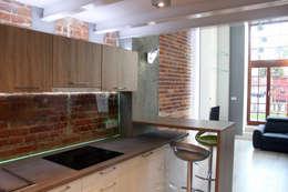 Cocinas de estilo industrial por WE LOFT DESIGN