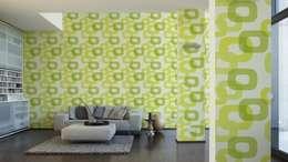 Grüne Muster Erfrischen Den Raum
