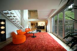 Valliciergo: Terrazas de estilo  de TEÓFILO. Carpintería de Aluminio
