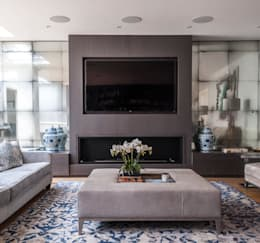 modern Living room by Rupert Bevan Ltd