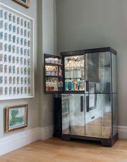 eclectic Dining room by Rupert Bevan Ltd