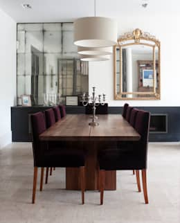 minimalistic Dining room by Rupert Bevan Ltd