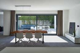 Projekty,  Jadalnia zaprojektowane przez Fachwerk4 | Architekten BDA
