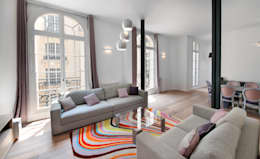 Salon ouvert : Salon de style de style Moderne par H2C GROUP