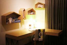 Gizem ONURMEN ARCHITECTS  – MAISON SE: modern tarz Çocuk Odası