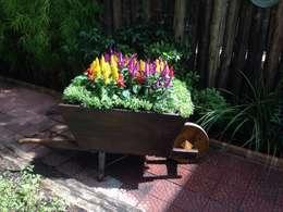 Jardin de style de style Rustique par Casa Nova Paisagismo