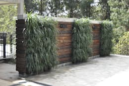 rustic Garden by A Varanda Floricultura e Paisagismo