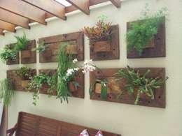بيت زجاجي تنفيذ A Varanda Floricultura e Paisagismo