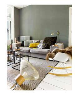 LA COLLOC PARISIENNE: Salon de style de style eclectique par Marisa