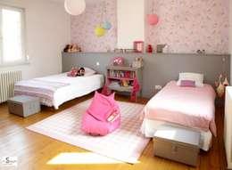 rénovation d'une chambre en chambre d'enfants: Chambre d'enfant de style de style Moderne par Emilie Bigorne, architecte d'intérieur CFAI