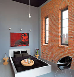 justyna smolec architektura & design: modern tarz Yatak Odası