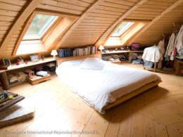 Дома: Спальни в . Автор – DOMESPACE VOSTOK