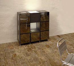 Livings de estilo moderno por CORE AG Design Works.