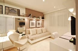 臥室 by Chris Silveira & Arquitetos Associados