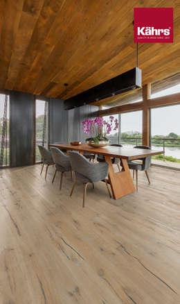 Paredes y pisos de estilo moderno por Kährs Parkett Deutschland