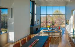 modern Living room by Robert Gurney Architect