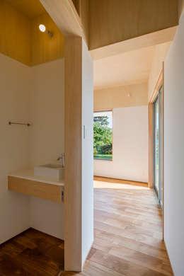 ห้องน้ำ by 矢内建築計画 一級建築士事務所