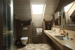 Ванная комната: Ванные комнаты в . Автор – ORT-interiors