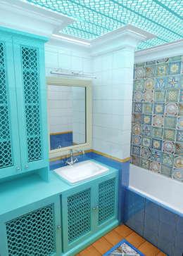 eclectische Badkamer door Сидорова Юлия