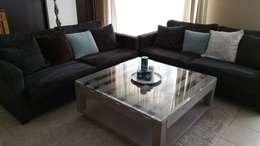 Grande table basse: Salon de style de style eclectique par L'Atelier Zora