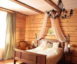 Русское кантри: Спальни в . Автор – Анастасия Муравьева