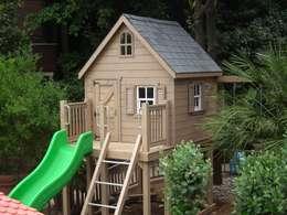 Minik Ev – Victorian Loft: klasik tarz tarz Bahçe