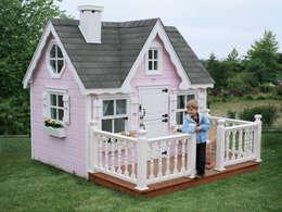 Minik Ev – Victorian: klasik tarz tarz Bahçe