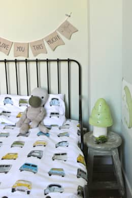modern Nursery/kid's room by Kinderkamervintage