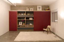 Apartamento em Perdizes: Salas de estar modernas por Vereda Arquitetos
