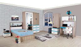 Alım Mobilya – İstanbul Genç Odası: minimal tarz tarz Çocuk Odası
