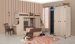 Habitaciones infantiles de estilo  por Alım Mobilya