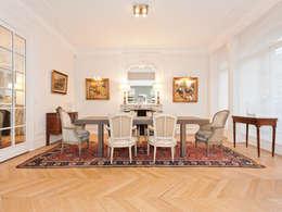 classic Dining room by Xavier Lemoine Architecture d'Intérieur