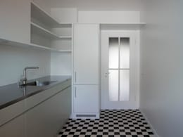 Cocinas de estilo moderno por André Born Architekt BSA
