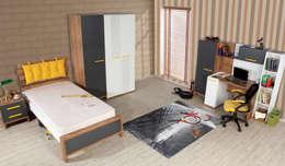 Alım Mobilya – sport youth room set: modern tarz Çocuk Odası