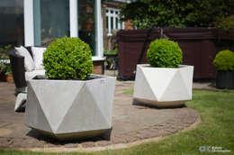 Jardines de estilo escandinavo por Adam Christopher Design