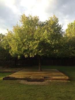 Jardines de estilo rústico por Paisajes Albert