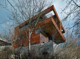 Projekty, nowoczesne Domy zaprojektowane przez HAMMERER ztgmbh . architekten