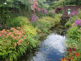 Tuinen: moderne Tuin door Degroenewand.nl